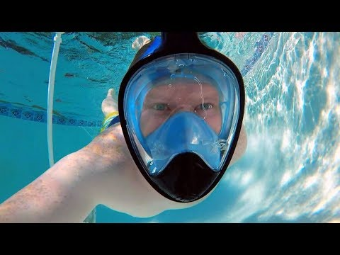d6f399997722 Full Face Snorkel Mask Review - YouTube