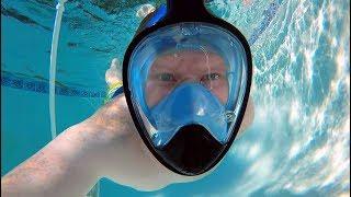 full face snorkel mask new