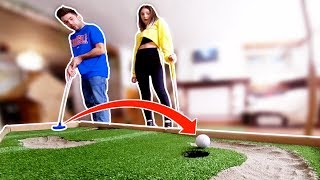SFIDA A MINI GOLF IN CASA **GOLF CHALLENGE**