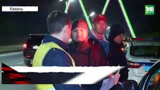 На Оренбургском тракте при въезде в Казань по принципу домино столкнулись 5 автомобилей | ТНВ