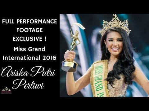 Miss Grand International 2016 Ariska Putri Pertiwi's Full Performance