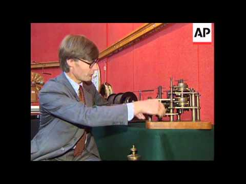 UK: 19TH CENTURY MECHANICAL COMPUTING DEVICE SOLD AT AUCTION