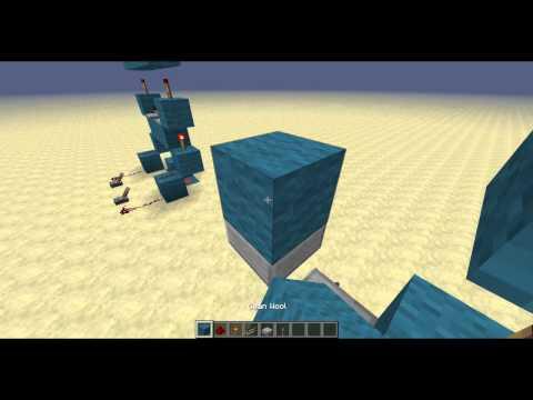 Minecraft Redstone :: Vertical XOR Gate - 2 Patterns