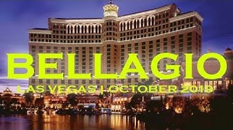 Bellagio Hotel Casino Las Vegas Walkthrough October 2019