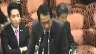22-11-17「仙谷総理大臣」参院予算委