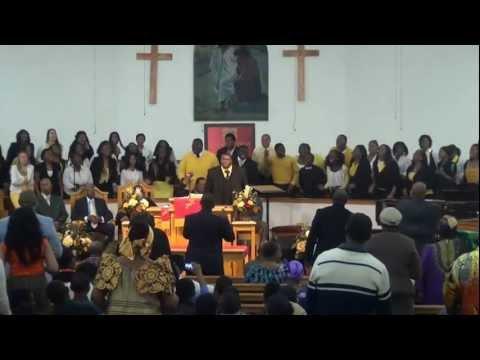 Mt. Sinai MBC of Orlando, FL - Guest Choir - The University of Florida Gators Gospel Choir