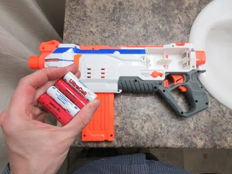 Nerf Modulus Regulator IMR battery test