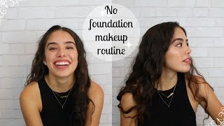 No Foundation Everyday Makeup Tutorial // Flawless & Easy! / GUEMZ