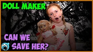 DollMaker Video Can We Save Her from Turning into a Doll | Thumbs Up Family