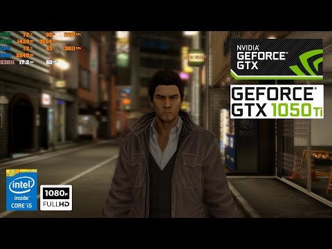 Yakuza 5 Remastered High Graphic | GTX 1050Ti |