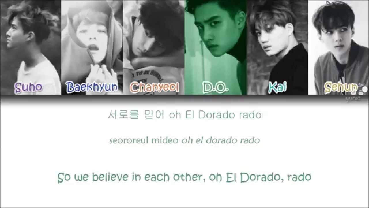 EXO - El Dorado (Korean ver.) (Color Coded Han|Rom|Eng Lyrics)