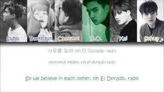 EXO - El Dorado (Korean ver.) (Color Coded Han|Rom|Eng Lyrics)