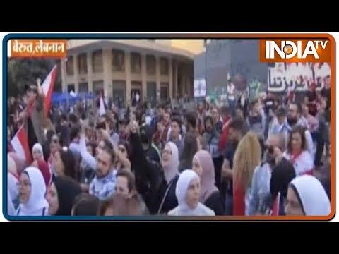 Lebanon protesters shut