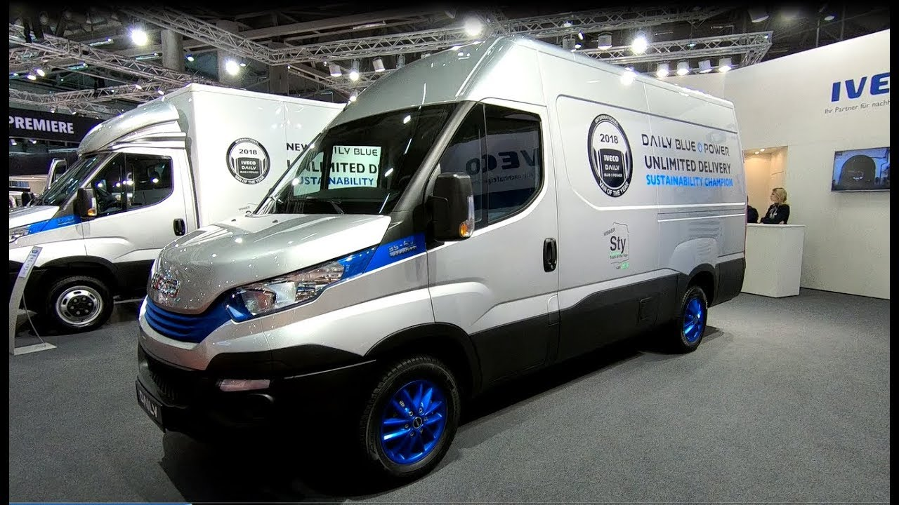 iveco daily 35 ev electric 35s60e v p van of the year 2018 new model rh youtube com 2010 Iveco Daily Iveco Daily Chassis