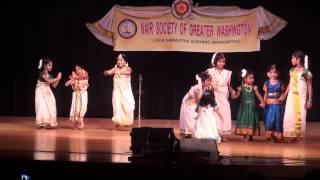 NSGW Onam 2012 - ona pattin thalam - Onam theme