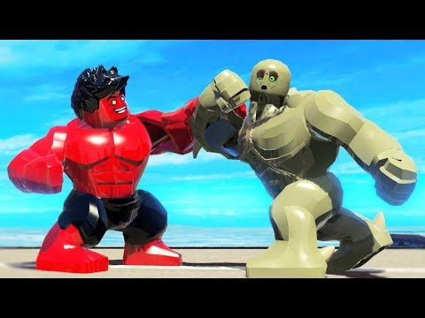 Red Hulk VS Abomination - Epic Battle In Lego Marvel Superheroes