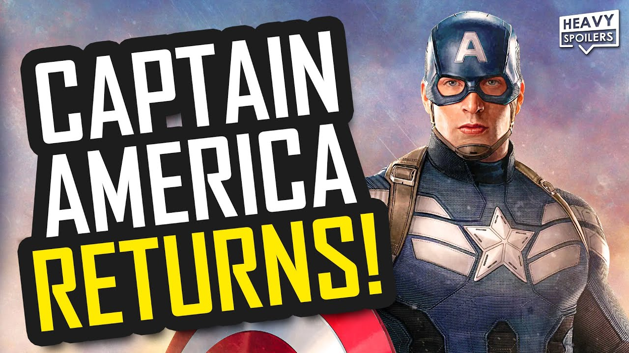 Captain America Eyes Return To The MCU As Chris Evans Nears ...