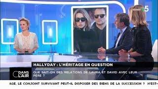 Hallyday : l'héritage en question - Les questions SMS #cdanslair 13.02.2018
