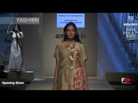 OPENING SHOW Part 2 Spring Summer 2017 | INDIA Fashion Week by Fashion Channel