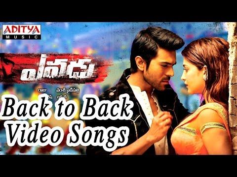 Yevadu Movie Full Video Songs Back to Back     Ram Charan,Shruti Hassan, Allu Arjun,Kajal