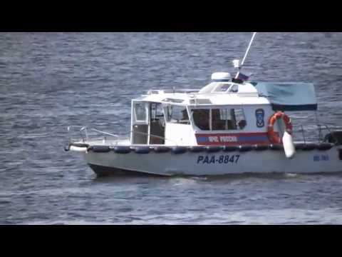 Катер МЧС России Архангельск Boat Russian Emergencies Ministry Arkhangelsk