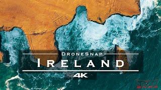 Ireland 🇮🇪 - by drone [4K]