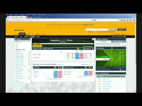 Webinar Strategie Betting Exchange