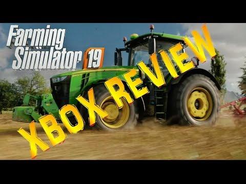 FARMING  SIMULATOR 19 REVIEW XBOX ONE CONSOLE
