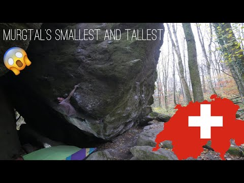 Escaping Ticino • 4 Boulders from Murgtal, Switzerland