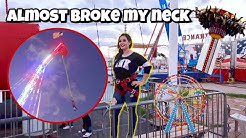 Extreme Bungee Jumping ( Arizona State Fair Carnival Games) 🎡🎢