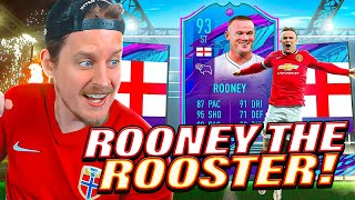 THIS CARD IS INSANE! 93 END OF AN ERA ROONEY REVIEW! FIFA 21 Ultimate Team