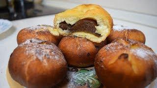 Пончики с повидлом / Невероятно вкусные пончики с начинкой