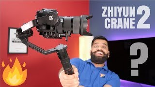 My New Tool 🔥Zhiyun Crane 2 Gimbal Unboxing and First Look