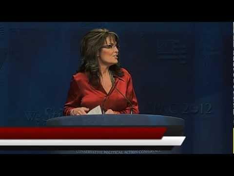 Sarah Palin CPAC 2012 - FULL SPEECH
