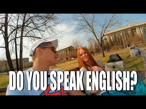 DO RUSSIANS SPEAK ENGLISH?(Social Experiment)