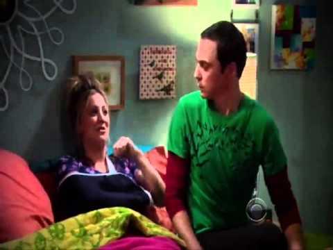 Sheldon and Penny Soft Kitty (The Big Bang Theory)