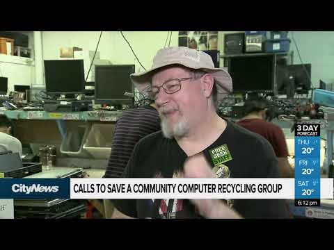 Calls To Save A Community Computer Recycling Group