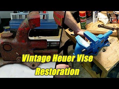 Vintage Heuer Vise Restoration