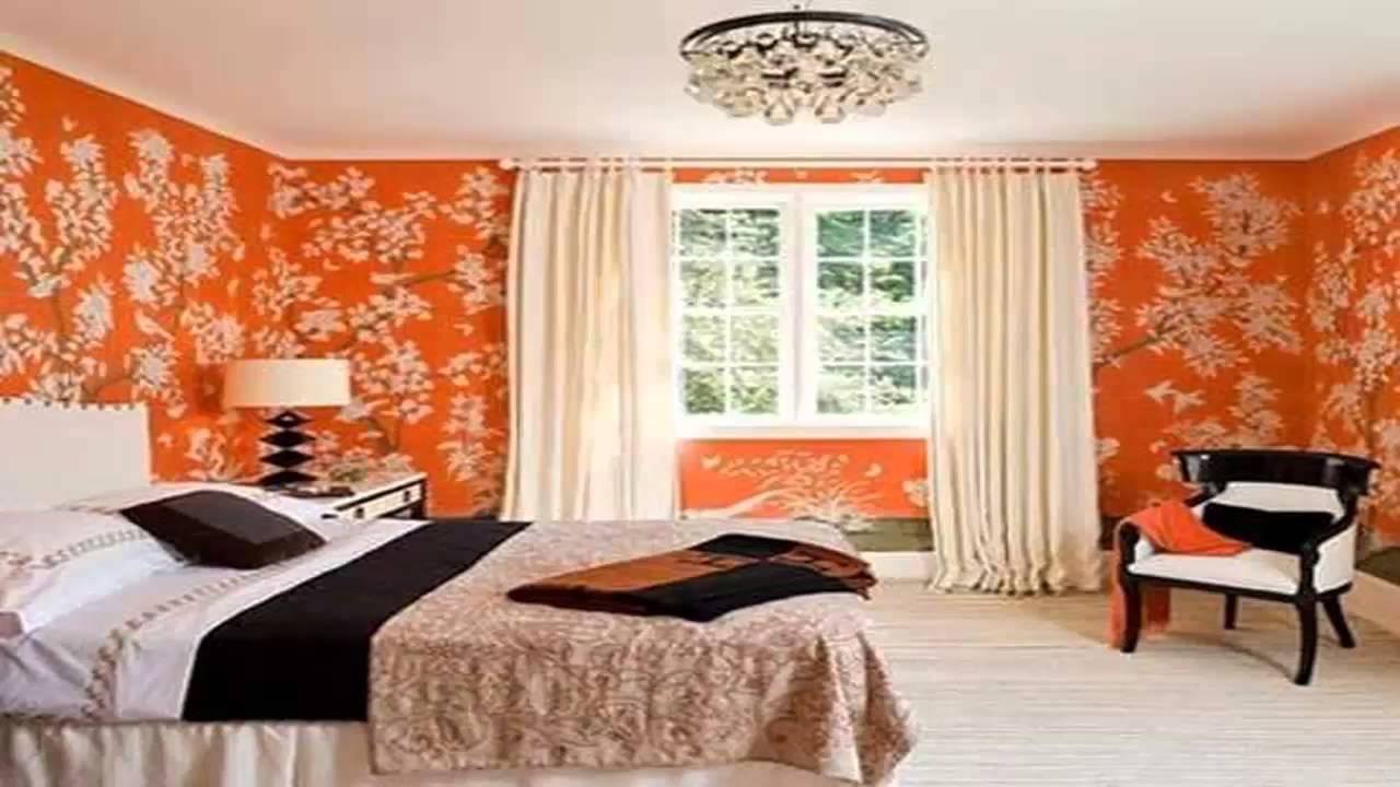 غرف نوم باللون البرتقالي و البني Youtube
