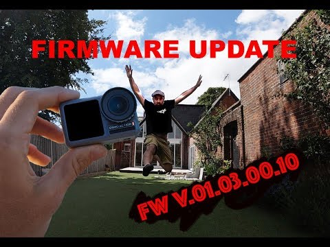 DJI Osmo Action Firmware Fix : How To Update To V.01.03.00.10
