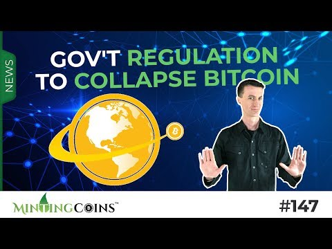 #147 Gov't Regulation to Collapse Bitcoin & Issues Fiat-Crypto? (CryptoRuble/ FedNotes)