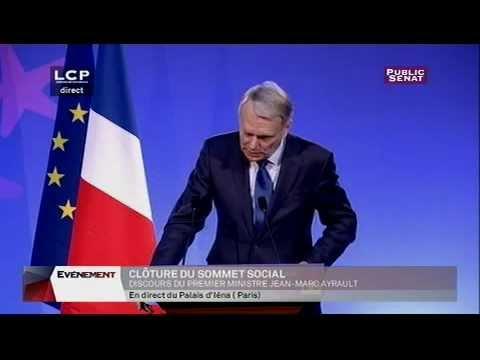Jean-Marc Ayrault : discours de clôture de la conférence sociale