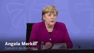 Angela Merkel explica la nueva fase de desescalada en Alemania