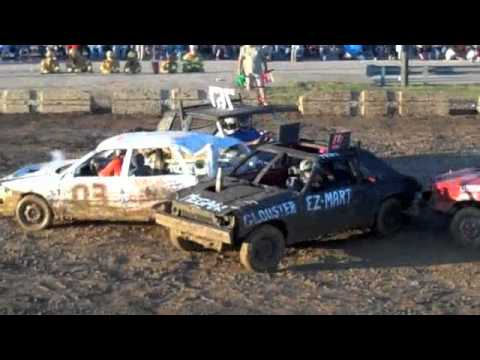 Athens County Fair Demolition Derby