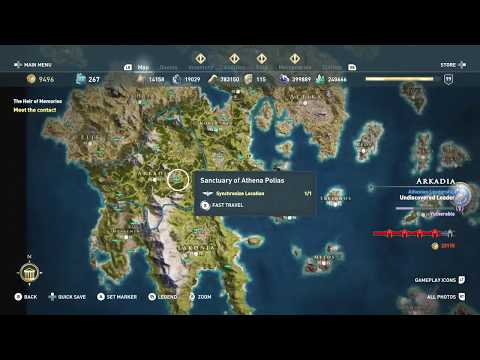 New Atlantis Mission Map Location South Of Lesbos Ac Odyssey