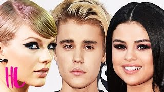Taylor Swift Reacts to Justin Bieber & Selena Gomez AMAs Reunion
