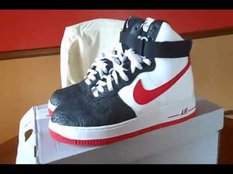huge discount 34881 62fb8 Nike Air Force One High Elephant Print Toe Review