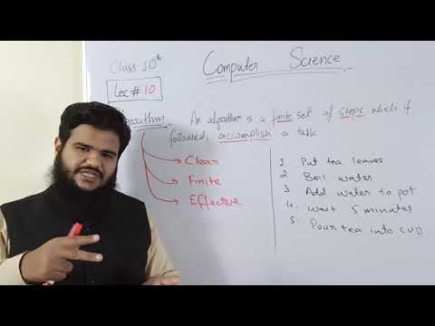 ICT_ CH 1-  LEC 10- ALGORITHM AND STRATEGY FOR DEVELOPING ALGORITHM