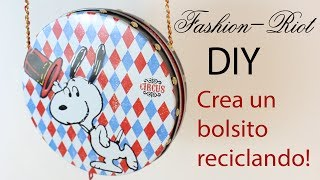 DIY- Crea un bolso con latas de galletas!  | Fashion Riot Thumbnail