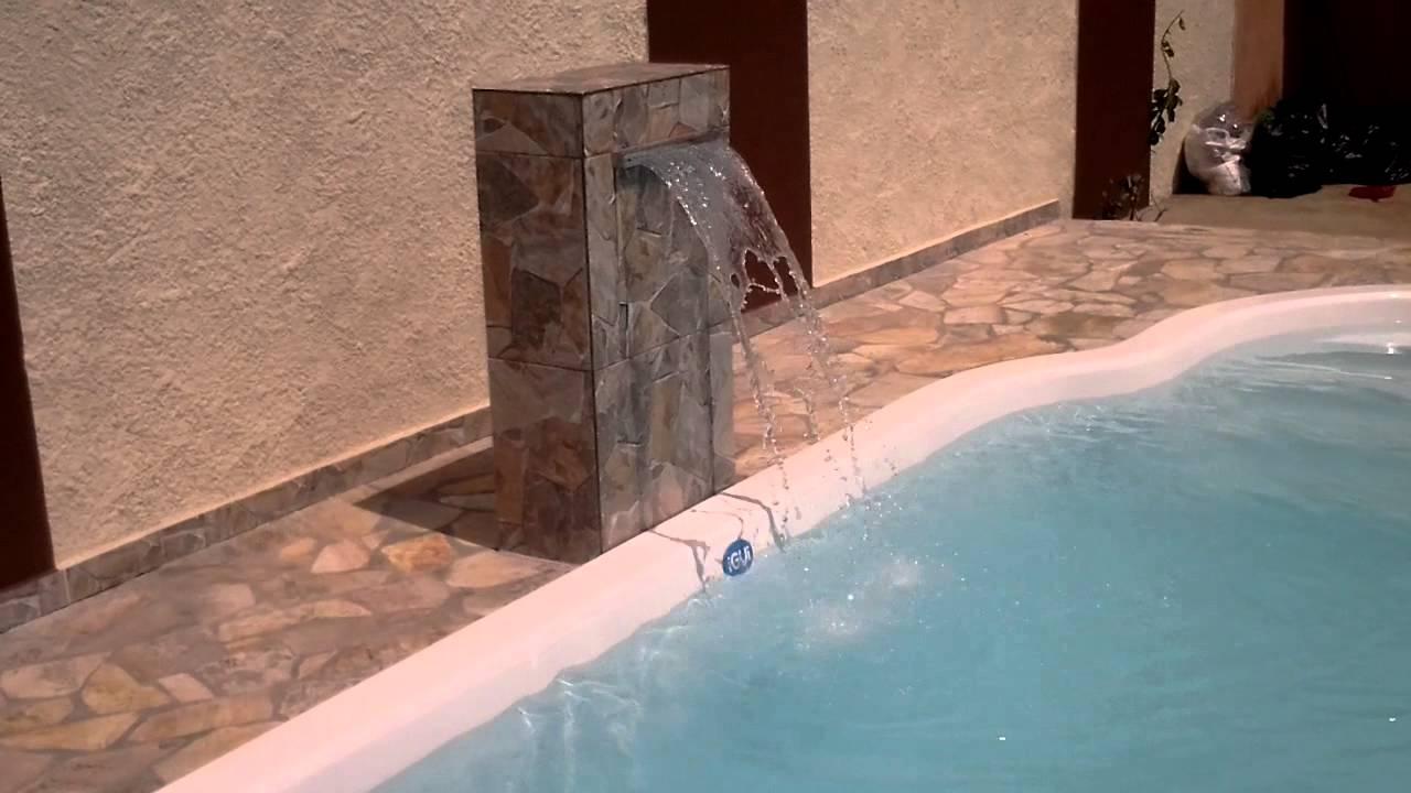 piscina igui de 7 metros com cascata de avenaria youtube